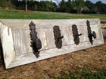 Reclaimed Siding Wall Hooks