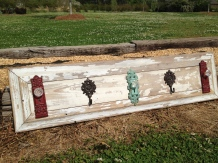 Reclaimed Lap Siding Wall Hooks