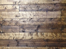 Distressed Wood w/ Provincial Stain (headboard)