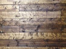 Distressed Wood w/ Provincial Stain (headboard)