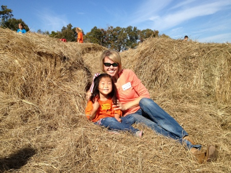 A Mommy date at the Pumpkin Patch