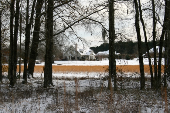 Our Homestead in the Snow